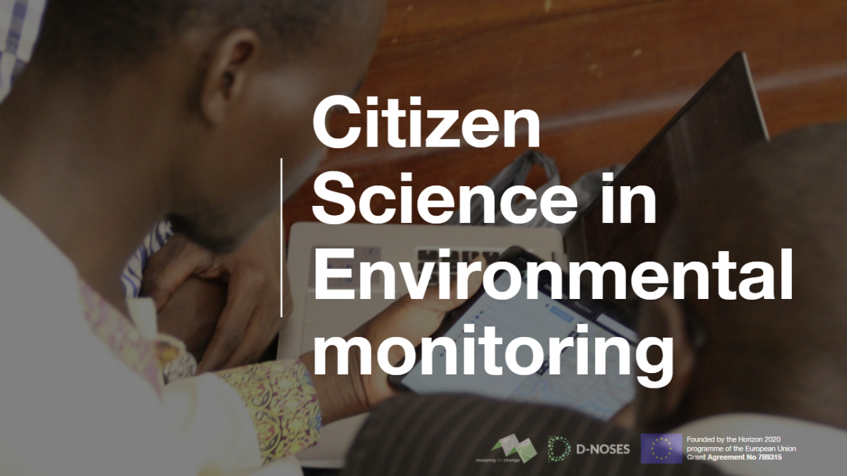 Citizen Science in Environmental Monitoring Webinar