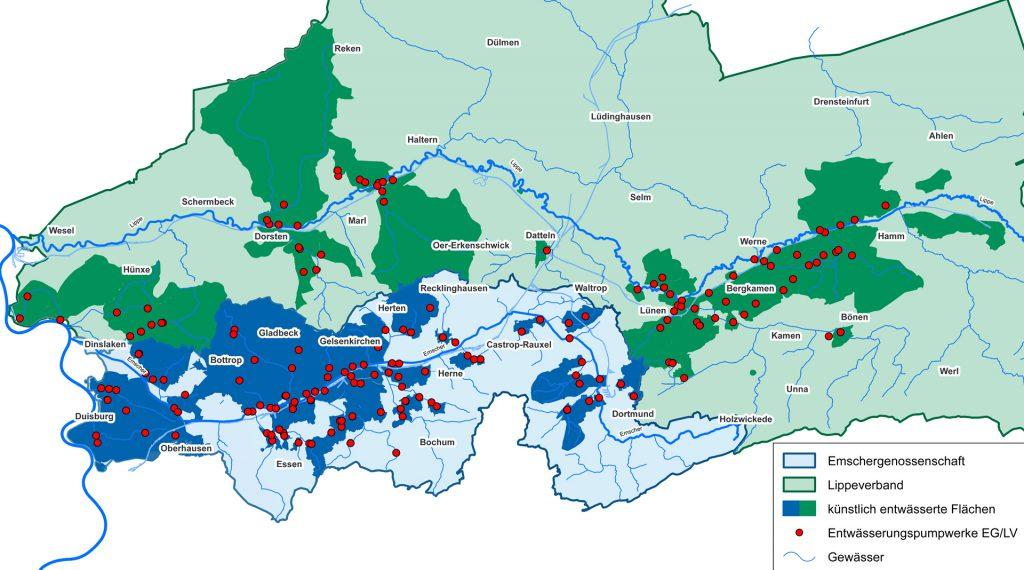 Map of Schermbeck- North Rhine-Westphalia