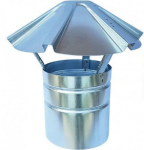 Figure 2. Example of and stack with raincap